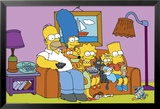 Simpsons - Couch Affiches
