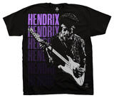 Jimi Hendrix - Hendrix Poster T-Shirt