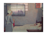 A Summer Evening, C.1925 Giclee Print by Frederick Cayley Robinson