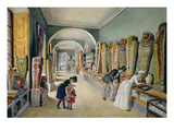 The Corridor and the Last Cabinet of the Egyptian Collection Giclee Print by Carl Goebel