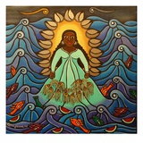 Yemaya, 2010 Reproduction procédé giclée par Laura James