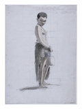 Korah Girl with a Jar, 1802 (W/C and Graphite on Paper) Giclee Print by Samuel Daniell