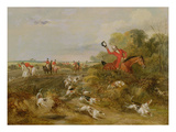 Capping on Hounds, Bachelor&#39;s Hall, 1836 (Oil on Canvas) Giclee Print by Francis Calcraft Turner