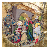 Codex 15.501 the Adoration of the Kings (Vellum) Giclee Print by  German