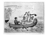 Fare Thee Well, C.1816 (Engraving) Giclee Print by George Cruikshank
