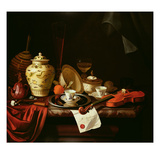 A Still Life Giclee Print by Pieter Gerritsz. van Roestraten
