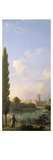 Laxenburg Castle, Near Vienna, 1810 (Oil on Canvas) Giclee Print by Jean Bidauld