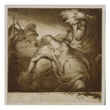 King Lear and Cordelia, 1776 (Etching and Aquatint with India Ink) Giclee Print by James Barry