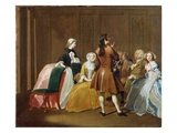The Harlowe Family, from Samuel Richardson's 'Clarissa', c.1745-47 Giclee Print by Joseph Highmore