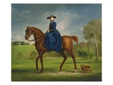 The Countess of Coningsby in the Costume of the Charlton Hunt, c.1760 Giclee Print by George Stubbs
