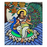 Devi Saraswati, 2011 Giclee Print by Laura James