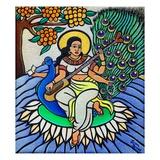 Devi Saraswati, 2011 Giclee Print by Laura James