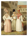 A West Indian Flower Girl and Two Other Free Women of Colour, c.1769 Giclee Print by Agostino Brunias