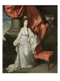 Lady Grant, Wife of Sir James Grant, Bt., 1770-80 (Oil on Canvas) Giclee Print by Johann Zoffany