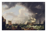 The Fishery, c.1764 Giclee Print by Richard Wright