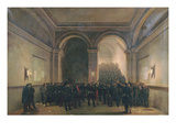 Entry of the 106th Battalion into the Paris Town Hall, 31st October 1870 Giclee Print by Jules Didier