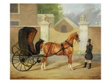 Gentlemen's Carriages: a Cabriolet, c.1820-30 Giclee Print by Charles Hancock