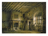 The Tolbooth, Stage Design for 'The Heart of Midlothian', c.1819 Giclee Print by Alexander Nasmyth