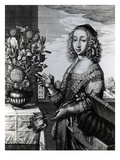 Spring, 1641 (Etching) Giclee Print by Wenceslaus Hollar