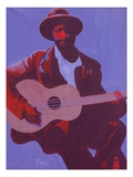 Purple Blues, 2006 Giclee Print by Kaaria Mucherera