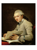 Pierre Rousseau (1750-1810) 1774 (Oil on Canvas) Giclée-Druck von Francois Andre Vincent