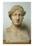 Portrait Bust of Sappho (Marble) Giclee Print by  Greek