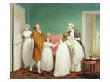 Birth of the Heir, c.1799 Giclee Print by William Redmore Bigg
