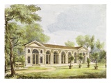 Orangery, Kew Gardens, Plate 11 from 'Kew Gardens: a Series of Twenty-Four Drawings on Stone' Premium Giclee Print by George Ernest Papendiek