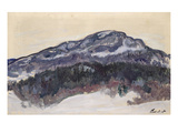 Mount Kolsaas, Norway, 1895 Giclee Print by Claude Monet