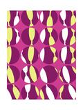 Swirly Stripe Giclee Print by Louisa Knight