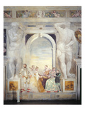 The Concert (Fresco) Giclee Print by Giovanni Antonio Fasolo