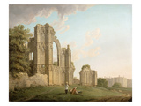 St Mary's Abbey, York, c.1778 Giclee Print by Michael Rooker
