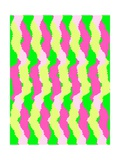 Funky Stripes, 2011 Giclee Print by Louisa Knight