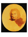 Portrait of Samuel Johnson (1709-84) C.1778-80 (Oil on Canvas) Giclee Print by James Barry
