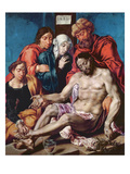 Lamentation, C.1540-45 (Oil on Oak Panel) Giclee Print by Maerten van Heemskerck