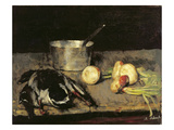 Still Life with Casserole and Wild Duck, 1885 Giclee Print by Carl Schuch