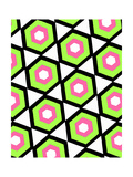 Hexagon Giclee Print by Louisa Knight