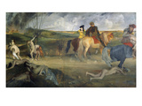 Scene of War in the Middle Ages, c.1865 Premium Giclee Print by Edgar Degas