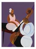 Lavender Jazz, 2007 Giclee Print by Kaaria Mucherera