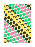 Overlayed Dots Giclee Print by Louisa Knight