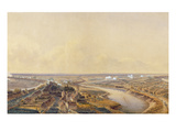 The Battle of Friedland, 14th June 1807 (W/C on Paper) Giclee Print by Jean Antoine Simeon Fort