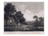 Shooting, Plate 2, Engraved by William Woollett (1735-85) 1770 (Fifth State Engraving and Etching) Giclee Print by George Stubbs