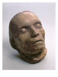 Death Mask of Ludwig Van Beethoven (1770-1827), 1827 Giclee Print