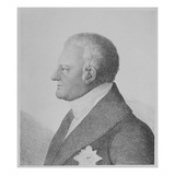 Karl August, Grand Duke of Saxe-Weimar-Eisenach (Engraving) Giclee Print by  German