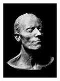 Gustav Mahler's Death Mask, 1911 (Plaster) (B/W Photo) Premium Giclee Print by  Austrian