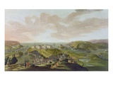 Plymouth, 1673 Giclee Print by Hendrick Danckerts