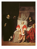 The Patient and the Doctor, 1660S Giclee Print by Gabriel Metsu