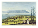 Kingston and Port Royal from Windsor Farm, from 'A Pictureseque Tour of the Island of Jamaica' Giclee Print by James Hakewill