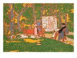 The Park (Detail) Giclee Print by Jozsef Rippl-Ronai