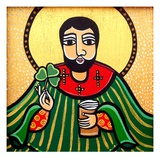 St Patrick, 2011 Giclee Print by Laura James